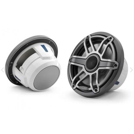 JL Audio M6-770X-S-GmTi coassiali 196mm finitura titanio, griglia sportiva