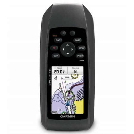 "GPSMAP® 78S, 2,6"" TFT a colori, Slot Micro SD, Bussola 3 assi, Altimetro e barometro"