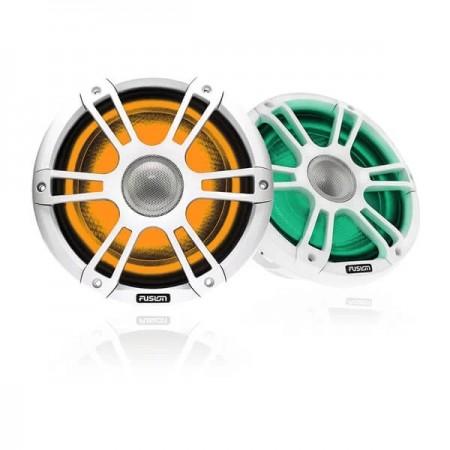 """Fusion® Altoparlanti Signature Serie 3 (SG-FL772SPW Coppia altoparlanti da 7.7"""" con griglia Sport bianca e LED - 20 cm)"""
