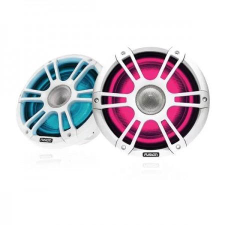 """Fusion® Altoparlanti Signature Serie 3 (SG-FL882SPW Coppia altoparlanti da 8.8"""" con griglia Sport bianca e LED - 22 cm)"""